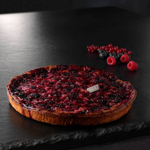 Tarte aux fruits rouges 28cm